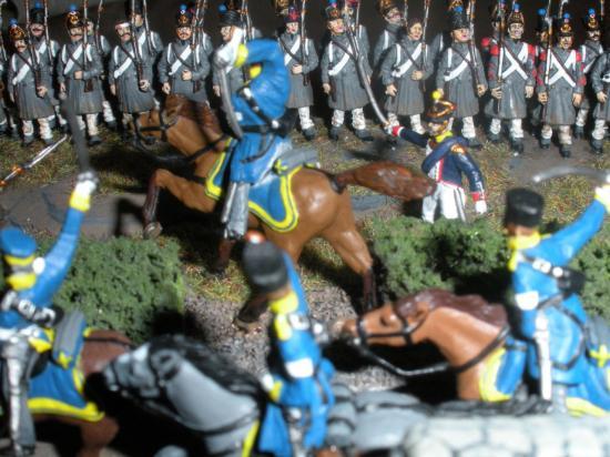 La Bataille de Reims eut lieu le 13 mars 1814
