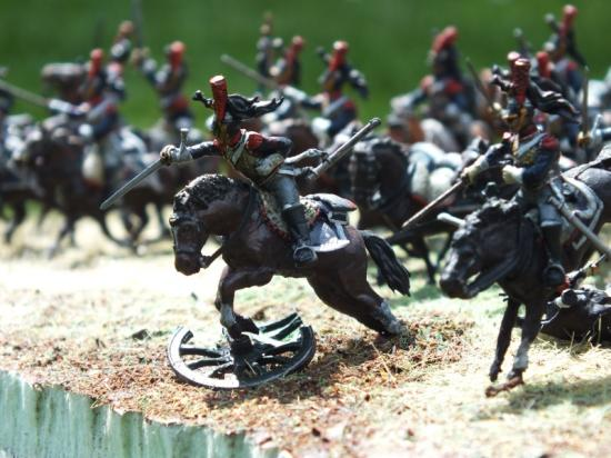 Charge des Cuirassiers Empire 1/72