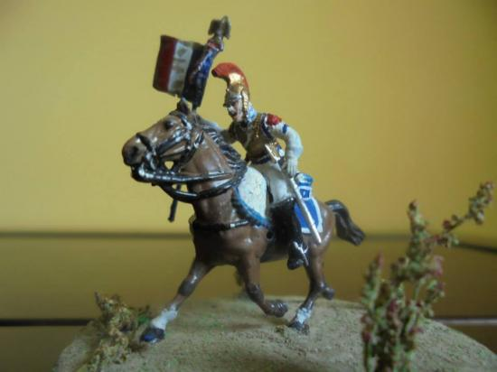 Carabinier 1811 à 1815 au 1/72, Porte Aigle,