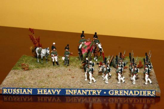 Grenadiers Russe Zvezda 1/72
