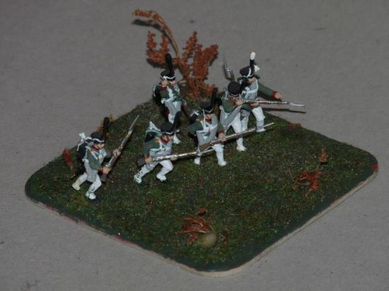 Infanterie Zvezda Russe au 1/72