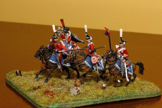 Z8055 - Hussards Russes 1812-14 - Echelle 1:72 Zvezda