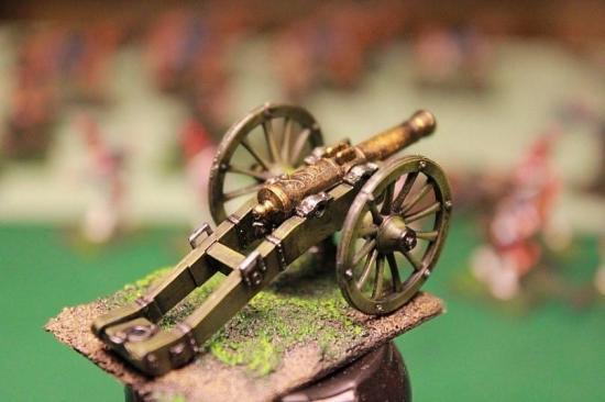 French Artillery 1/72 Zvezda