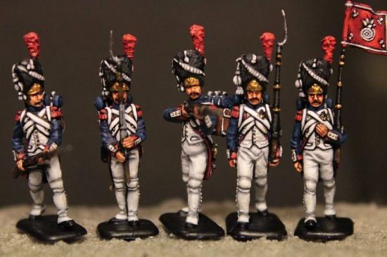 Questi sono i Granatieri della Vecchia Guardia Imperiale