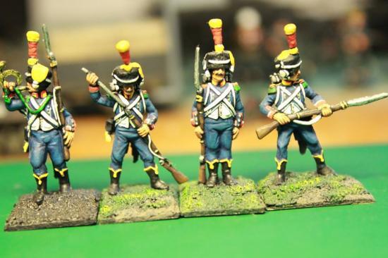 Voltigeur d'infanterie légère Hat au 1/72ème