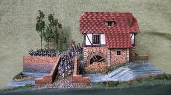 Saxe 1813 - le diorama