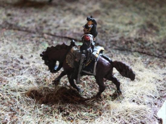 La charge des Cuirassiers au 1/72ème par Didier Chagnon