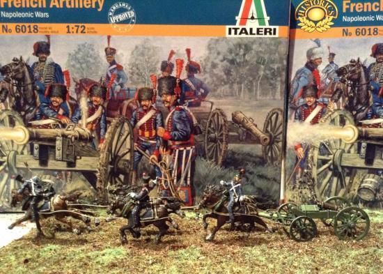 Train d'artillerie de la Garde Impériale au 1/72