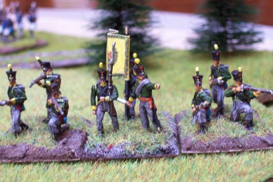 """Delaunoy Fabrice : """"Voici une partie de mon armée alliée à Waterloo"""""""