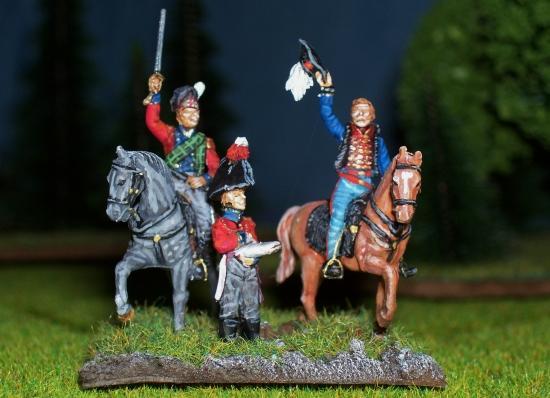 """Delaunoy Fabrice:""""Voici une partie de mon armée alliée à Waterloo"""""""