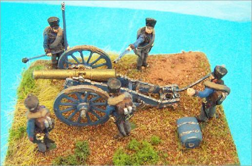 Artillerie Prussienne - style de composition