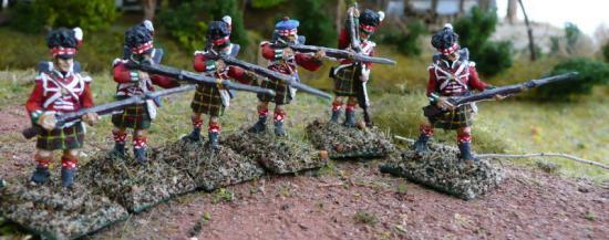 Les Ecossais au combat