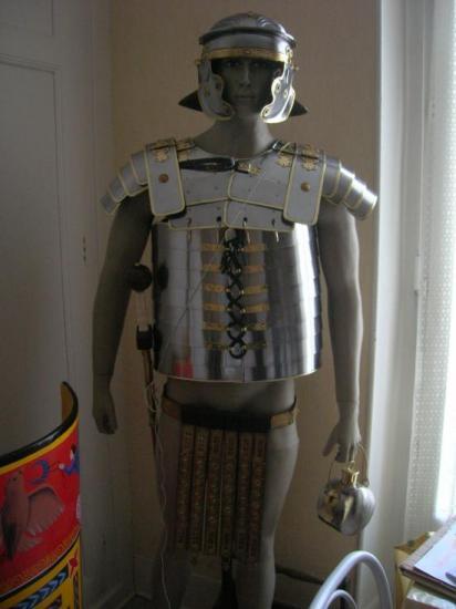 Légionnaire  Romain en armes de Jean-François DUCOS