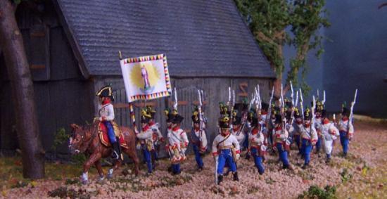 Infanterie Autrichienne avec officiers