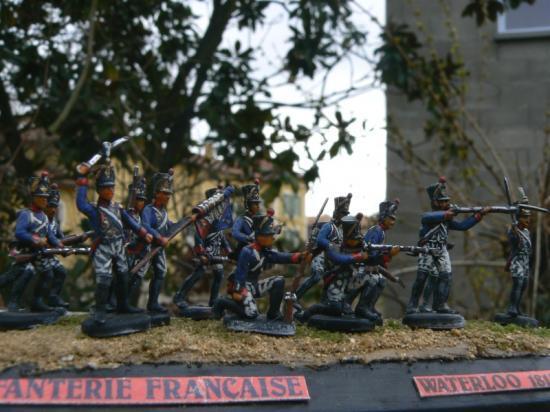 Infanterie Française Ligne & Garde Impériale merci à DOSSCHE Fabie
