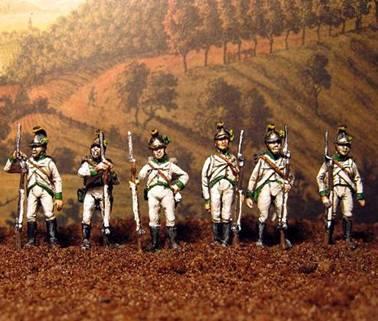 Infanterie Autrichienne 1805/1809 de Ehmke
