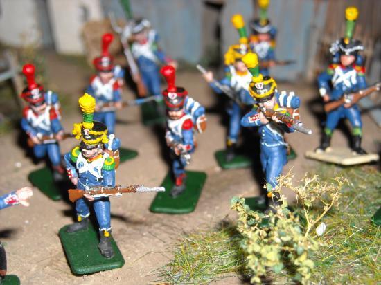 8042 Zvezda  et son Infanterie Légère 1er Empire Voltigeur & Carab