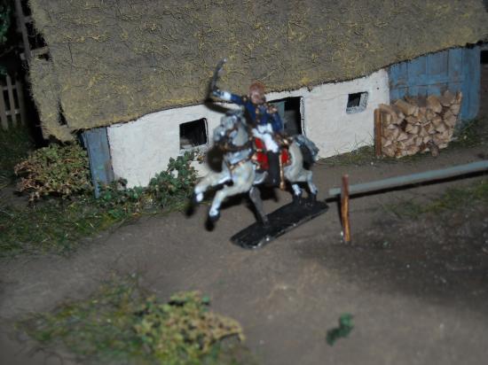 Maréchal Ney Prince de la Moskowa entrain de donner la charge: photo M