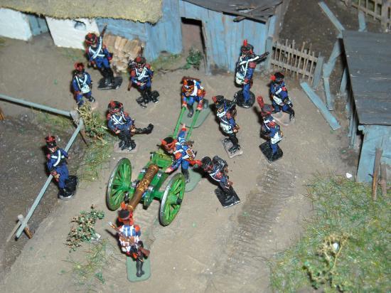 L'artillerie Française au 1/72ème: un mélange de figurines Art Miniatu