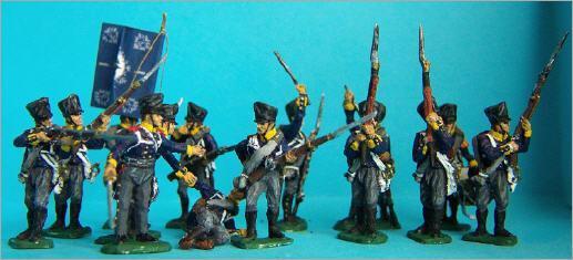 Infanterie Prussienne au combat