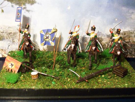 Photos des chasseurs à cheval du Royaume de Naples 1812 Merci à Monsie