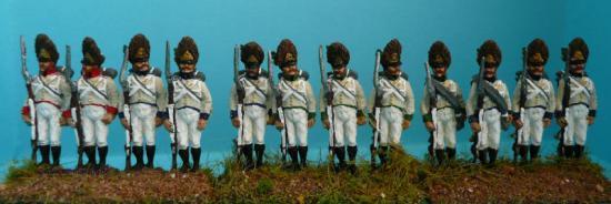 JS 72/0484 - Grenadiers Autrichiens Allemands - DEUTSCH-ÖSTERREICHISCH