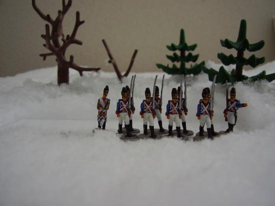 Figurines Hät 8069 Bavarois peintes par Frédéric Arenas