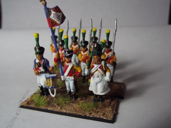 Régiments 1er Empire au 1/72ème pas trop connus par Frédéric Arenas