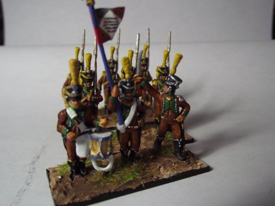 Les tirailleurs corses au 1/72ème 1803-1811 Troupe d'élite ...