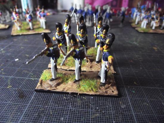Hät 8093 Wurttemberg Infantry  Wurtembourgeois (Line musketeers, Line grenadiers, Jaeger)