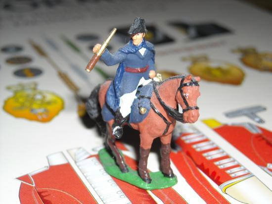 JS72/0198 Duc de Wellington à Waterloo transformé par Jean-François Ducos photo Marc