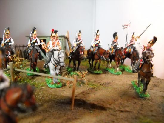 Chevaliers Gardes Russes au 1/72ème JS72/0308, JS72/0322, JS72/0323 photos Marc Claus