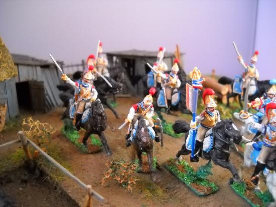 Carabiniers Français troupe du 2ème Régiment de chez Art Miniaturen au 1/72ème