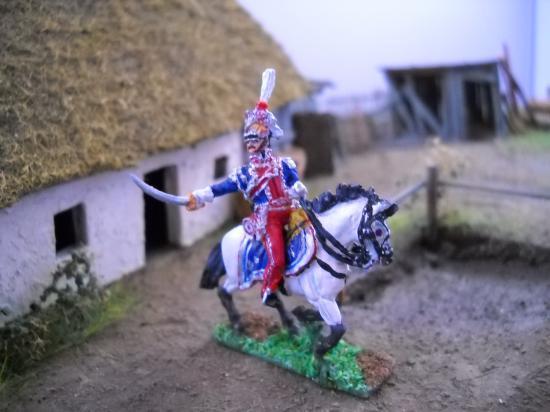 Général de Lanciers Polonais 1er  Empire au 1/72ème
