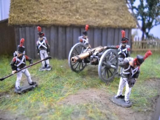 JS72/0262 Artillerie Polonaise 1812 au 1/72ème Art Miniaturen