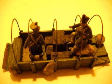 Très belle réalisations de chariots au 1/72ème
