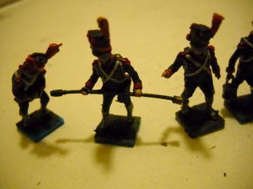 Transformation Artillerie à pieds de la Garde au 1/72ème