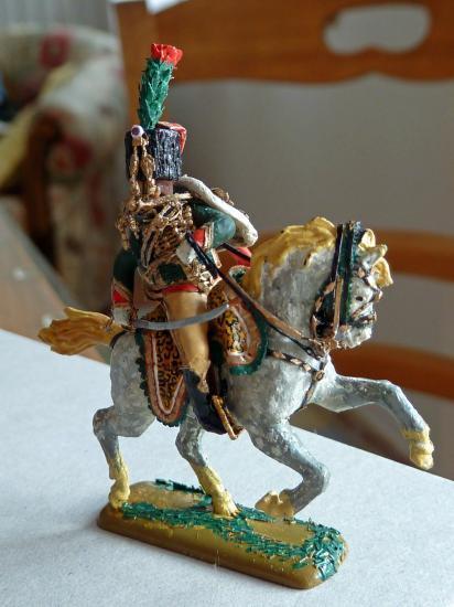 Chasseur à cheval de la garde Impériale au 1/72ème