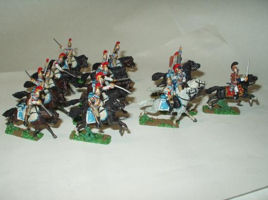 Mon 2ème de Carabiniers en 1812 chargeant à la Moskowa Générall Chouard en tête