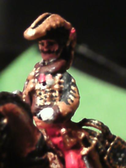 Général Lasalle au 1/72ème par E. Chaillet