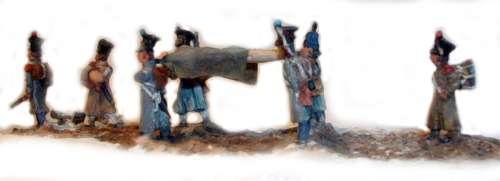 Hiver 1812 au 1/72ème par Monsieur Brunet