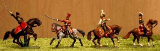 Officiers 1er Empire au 1/72ème Art Miniaturen
