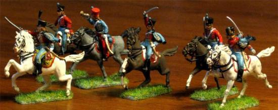 Peinture et photo par Didier Chagnon: Hussards Français 9ème régiment