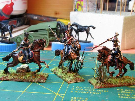 Lanciers Polonais de la Garde Impériale par Didier Chagnon