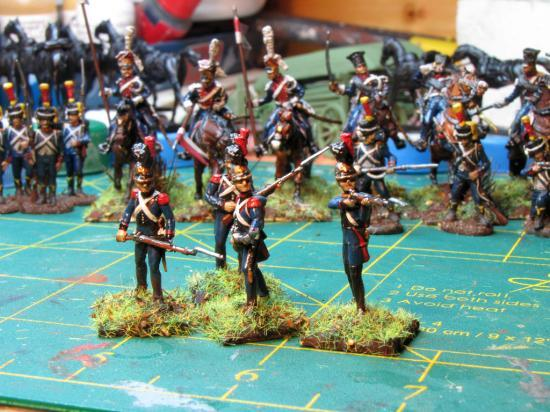 Hät 8218 au 1/72ème Premier Empire Voltigeurs 1808/1812 par Didier Chagnon