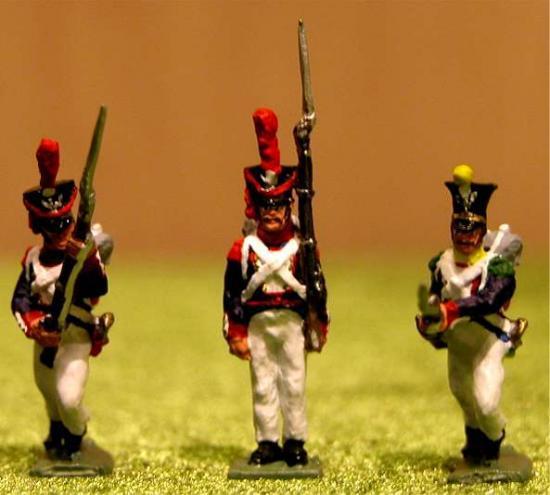 Infanterie Polonaise au 1/72ème Premier Empire par Jean-François