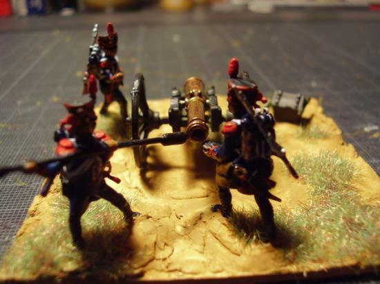 L'artillerie Française 1er Empire au 1/72ème par Frédéric Arenas