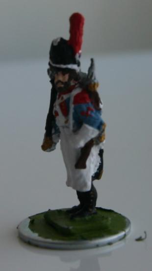 un Bataillon du 3ème de Ligne au 1/7ème en Art Miniaturen