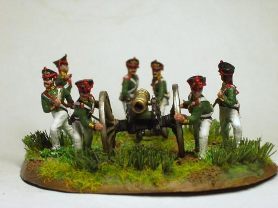 artillerie Russe au 1/72ème collection Marc Claus