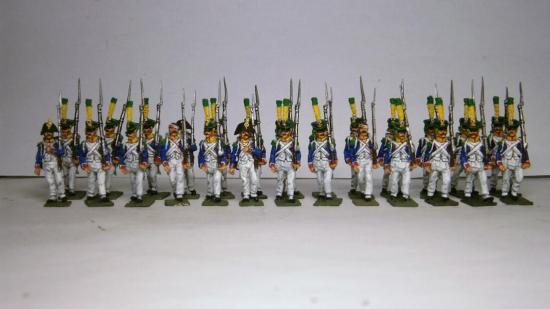 Voltigeurs Français 1809 à 1814 au 1/72 Marc Claus